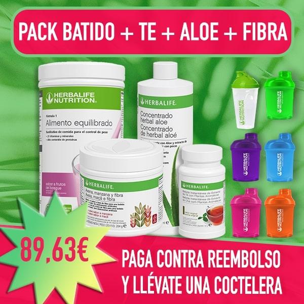 Pack reductor + Batido