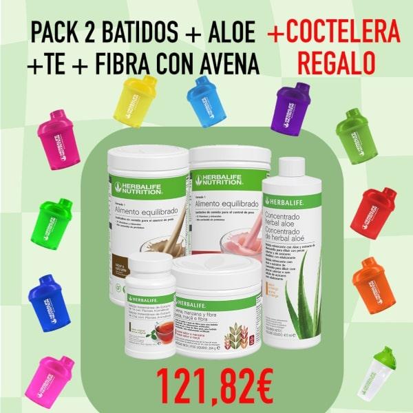 2 F1 | Té | Aloe vera | Avena