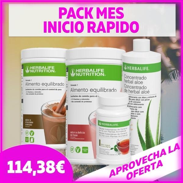 Pack medio control de peso | 1 mes