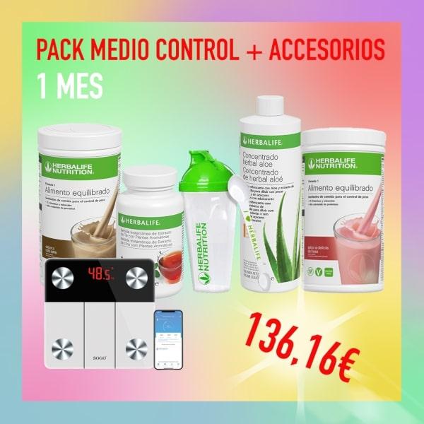 Pack medio controlar + Accesorios | 1 mes